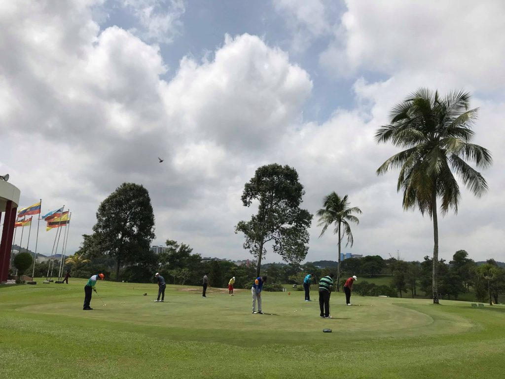 deemples golf gathering: danau golf club