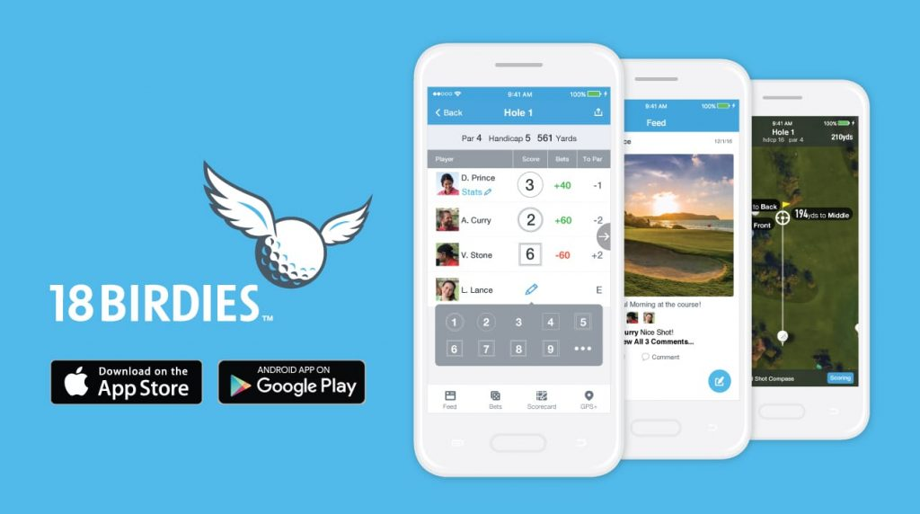 18Birdies with the BEST UI/UX
