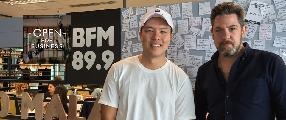BFM89.9 open for business interview with Deemples founder David Wong
