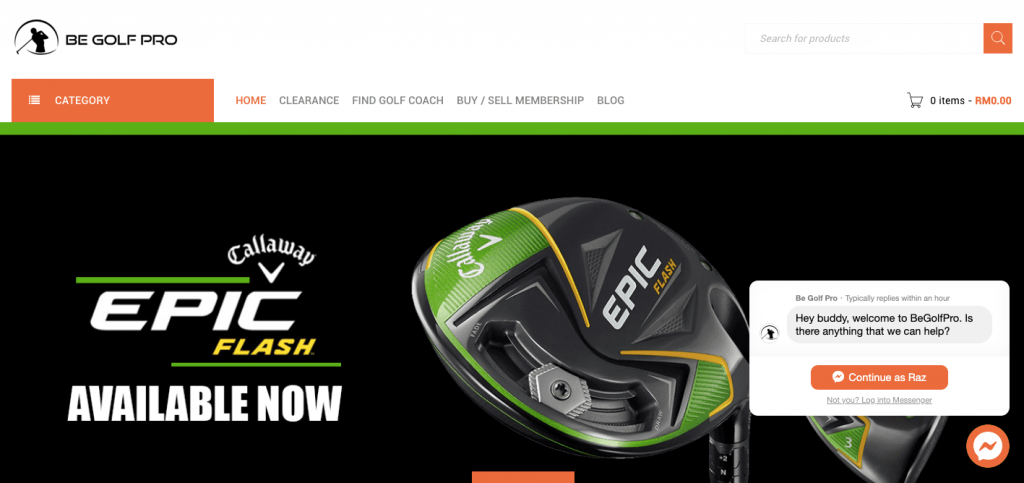 Be-Golf-Pro-Website-golf-shops-in-malaysia