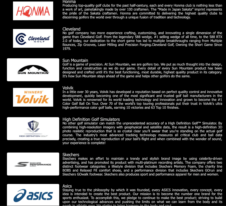 list of brands by Pan West