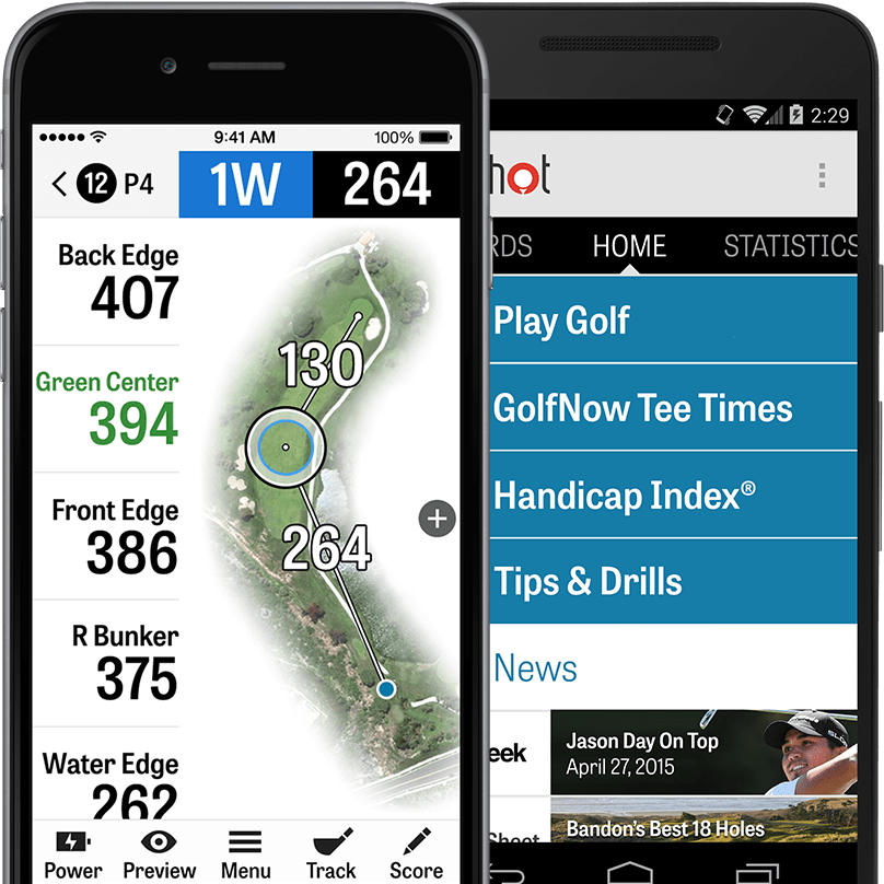 GolfShot most popular golf app