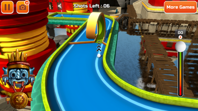 Mini Golf 3D in game screenshot by Apptopia review on golf games