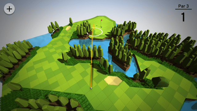 OK Golf mobile app golf games in game screenshot