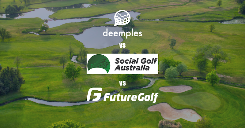 Social Golf Australia vs Future Golf vs Deemples