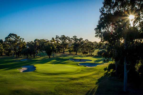 Commonwealth Golf Club golf courses in Melbourne