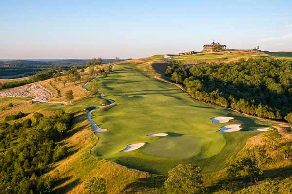 Payne's Valley Golf Course at Big Cedar Lodge, Missouri USA 8 new golf courses to play in 2020